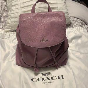 💜 Coach Elle Backpack in Jasmine purple